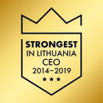 award strongest ceo lithuania